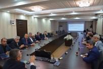 GÜRÜLTÜ KİRLİLİĞİ - Siyasi Parti Başkanları İle Seçim Güvenliği Toplantısı Yapıldı