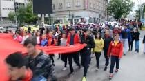 MEHTERAN TAKıMı - 19 Mayıs Gençlik Haftası'nda ABD Ve İsrail Protesto Edildi