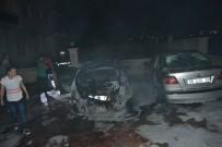 Adana'da Park Halindeki Otomobillerin Yakılarak Kundaklandı İddiası