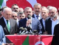 MEVLÜT UYSAL - AK Parti İstanbul İl Başkanlığı, İsrail'in Filistinlilere Uyguladığı Zulmü Protesto Etti