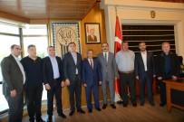 AKŞEHİR BELEDİYESİ - Akşehir Heyetinden Başkan Altay'a Ziyaret