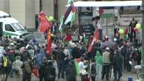 BRANDENBURG - Almanya'da İsrail Protestosu