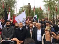 Ardahan'da Filistin'de Katliam Yapan İsrail Protesto Edildi
