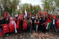 Ardahan'da İsrail Protestosu