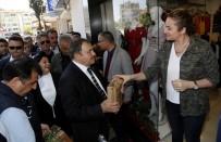EYLEM PLANI - Bakan Eroğlu Esnafa Fidan Dağıttı