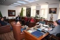 AMATÖR LİG - Başkan Üzülmez, Büyük Derbentspor'u Kabul Etti