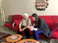 AFRİN - Başkan Yalçın Şehit Annesini Ziyaret Etti