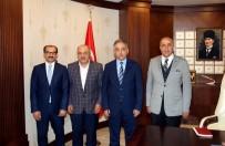 ZAP SUYU - Başkan Yardımcı'dan Vali Toprak'a Ziyaret