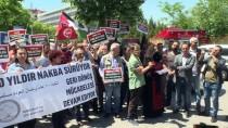 SIYAH ÇELENK - Başkentte İsrail Protestosu