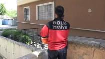 İTFAİYECİLER - Boşluğa Düşen Pitbull Güçlükle Kurtarıldı