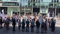 BATI ŞERİA - Brüksel'de Filistinliler İçin 'Sessiz' Eylem