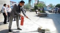 SÖNDÜRME TÜPÜ - Büyükşehir Belediyesinde Yangın Tatbikatı