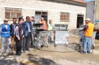 ÇÖP KONTEYNERİ - Çöp Konteynerlerinde Yaz Temizliği Yapıldı