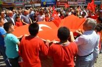 ALI SıRMALı - Edremit'te İsrail Protesto Edildi
