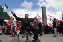 BÜYÜK FELAKET - Erzurum'da İsrail Protestosu
