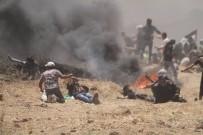 MÜLTECI - Gazze'de Şehit Sayısı 62 Oldu