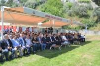 GAYRI SAFI MILLI HASıLA - Gemlik'te Amfitiyatronun Temeli Atıldı