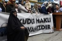 ANADOLU GENÇLIK DERNEĞI - Gümüşhane'de ABD Ve İsrail Protesto Edildi