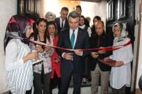 Hani Halk Eğitim Merkezi Yıl Sonu Sergisi Açtı