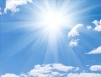 HAVA SICAKLIKLARI - Hava sıcaklıkları ülke genelinde artacak