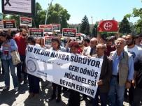 SIYAH ÇELENK - İsrail'in Ankara Büyükelçiliği Konutu'na Siyah Çelenk