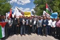 SIYONIST  - İsrail'in Katliamı Kahta'da Protesto Edildi