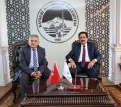 KALABA - Kalaba Belediye Başkanı Köroğlu, Referans Belediye Melikgazi'yi Ziyaret Etti