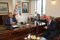 MEMDUH BÜYÜKKıLıÇ - KGC'den Başkan Büyükkılıç'a Ziyaret