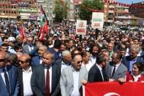 Kırıkkale'de Filistinli Şehitler İçin Gıyabi Cenaze Namazı Kılındı