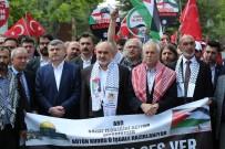 EĞITIMCILER BIRLIĞI SENDIKASı - Konya'da İsrail Ve ABD Protesto Edildi