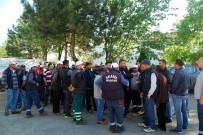 İŞ BIRAKMA - Malkara Belediyesi'nde İş Bırakma Eylemi