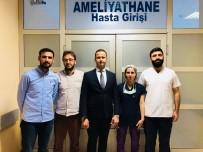 KORNEA NAKLİ - Mardin'de İlk Kez Kornea Nakli Ameliyatı Yapıldı