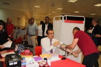 KAN BAĞıŞı - Mersin'de Adliye Personelinden Kan Bağışı
