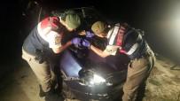 TRAFIK KAZASı - Mersin'de Bir Kadına Çarpıp Kaçan Sürücü Yakalandı