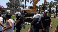 ÇEVİK KUVVET - Mersin'de Olaylı Yıkım