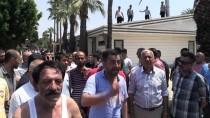 OTURMA EYLEMİ - Mersin'de Yıkım Gerginliği