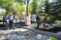 ODUNPAZARI - Odunpazarı Belediyesi Fen İşleri Müdürlüğü Ekiplerinin Asfalt Çalışması