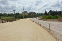 GÜLBEYAZ - Organize Sanayi Bölgesi Yolunda Yol Genişletme Çalışması Yapılıyor
