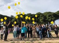 FARKINDALIK GÜNÜ - Sarı Balonlar Gökyüzünde