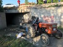 Traktörle Otomobil Çarpıştı Açıklaması 8 Yaralı
