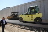SANAT ESERİ - Turgutlu Kavşak Projesi'nde Asfalt Çalışmaları Başladı