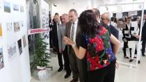 GRAFIK TASARıM - 'Uluslararası Posta Sanatı Sergisi' Açıldı