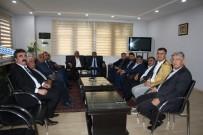 YATIRIMCI - Uslu'dan Duranay'a 'Hayırlı Olsun' Ziyareti