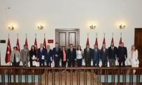 ERCAN TOPACA - Vali Topaca, 'Biz Anadolu'yuz Projesi'nin Ankara Ayağında Görevli Öğretmenleri Kabul Etti