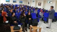 ENDÜSTRI MESLEK LISESI - Yazar Sadıkoğlu, Öğrencilerle Buluştu