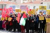 ALPEREN OCAKLARı - Yozgat'ta, İsrail Ve ABD Protesto Edildi