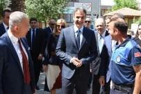 KUZEY EGE - Yunanistan'ın Yeni Demokrasi Partisi Başkanı Mitsotakis, Gökçeada'da