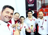 GÜREŞ TAKIMI - Adem Burak Uzun Avrupa Şampiyonu Oldu