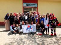 ŞIŞMANLıK - AİÇÜ Öğrencileri Köylerde Öğrencileri Ziyaret Etmeye Devam Ediyor