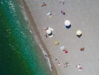 METEOROLOJI - Antalya'da güneşli havada deniz keyfi